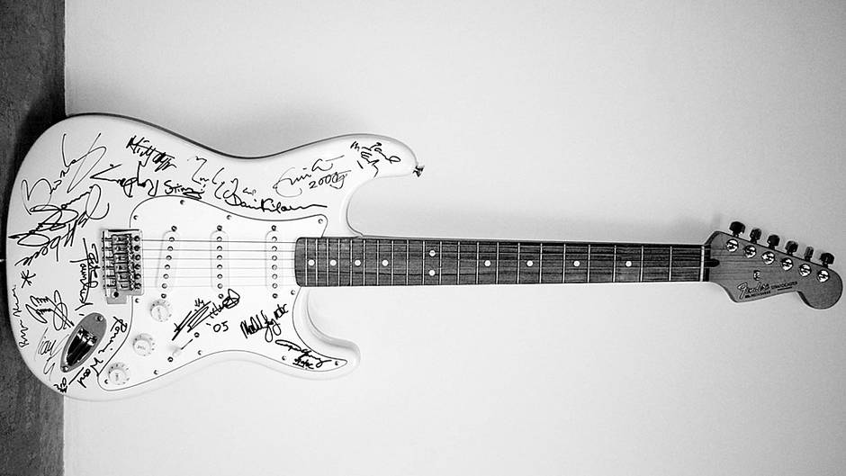 A guitarra mais cara do mundo