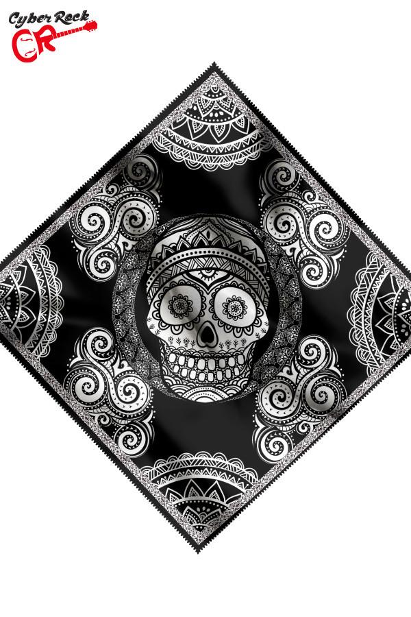 Bandana Skull Preta