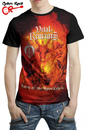 Camiseta Vital Remains Dawn of the Apocalypse