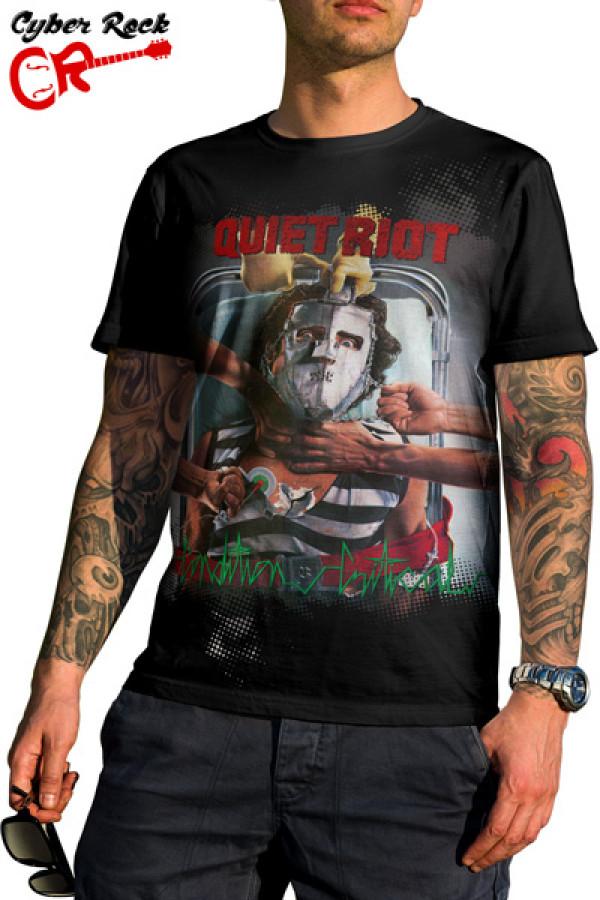 Camiseta Quiet Riot - Condition Critical