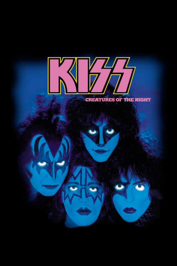 Camiseta KISS - Creatures Of The Night
