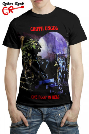 Camiseta Cirith Ungol One Foot In Hell