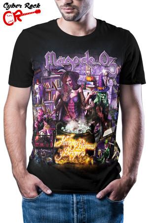Camiseta Mägo de Oz Hechizos, Pócimas y Brujería