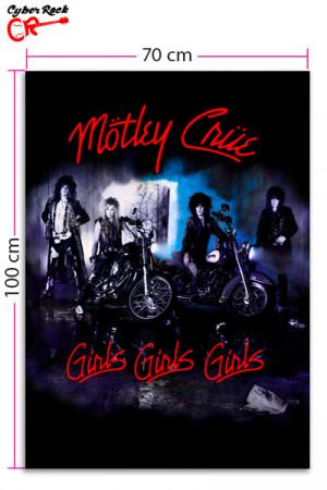 Bandeira  Motley Crue Girls Girls Girls