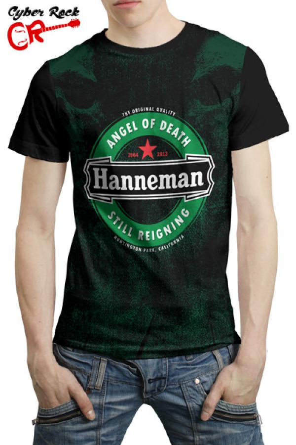 Camiseta Rock Beer Hanneman Still Reigning