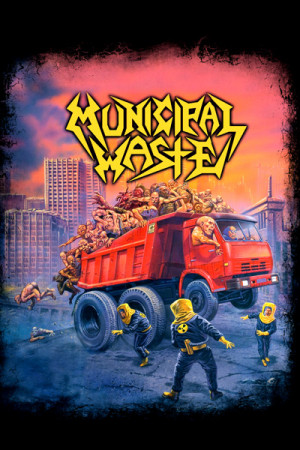 Camiseta Municipal waste mazardous Mutation