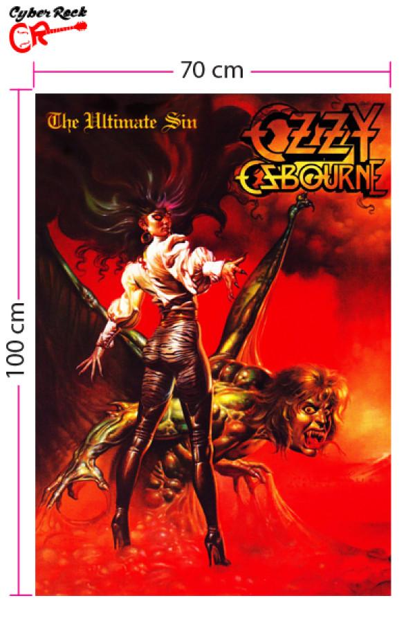 Bandeira Ozzy Osbourne - The Ultimate Sin Rar