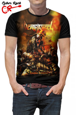 Camiseta Death Angel Relentless Retribution