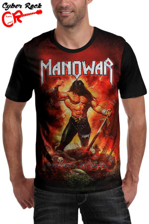 Camiseta Manowar Dawn of Battle