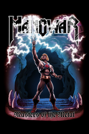 Camiseta Manowar Masters Of The Metal