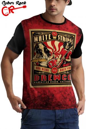 Camiseta The White Stripes Brewco