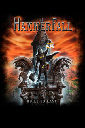 Camiseta Hammerfall Built to Last