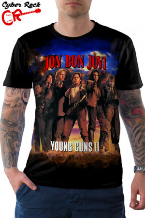 Camiseta Jon Bon Jovi The Young Guns II