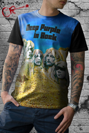 Camiseta Deep Purple in Rock