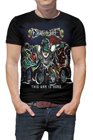 Camiseta Escape the Fate This War is Ours