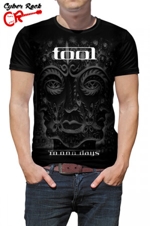 Camiseta Tool 10,000 Days B&W