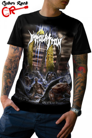 Camiseta Immolation Here in After