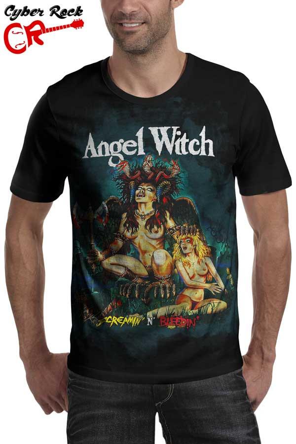 Camiseta Angel Witch Screamin' 'n' Bleedin'