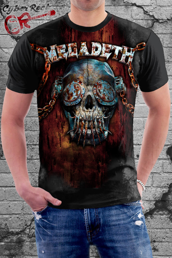 Camiseta-megadeth-mascote
