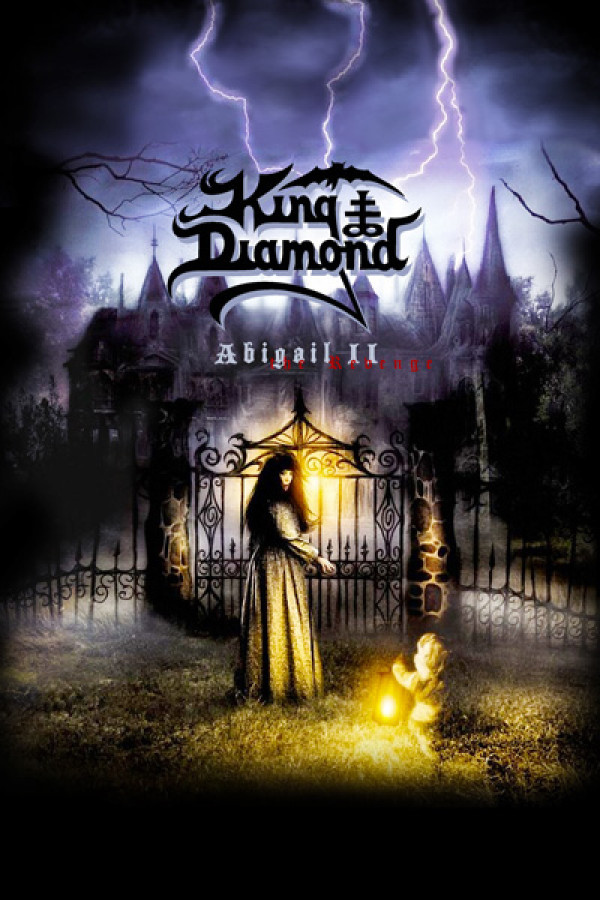 Blusinha King Diamond Abigail Part II