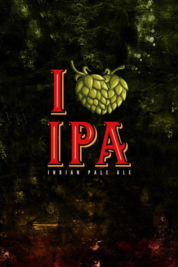 Blusinha Rock Beer I Love Ipa