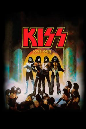 Camiseta KISS - Love Gun