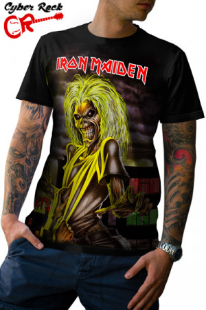 Camiseta Iron Maiden Killers