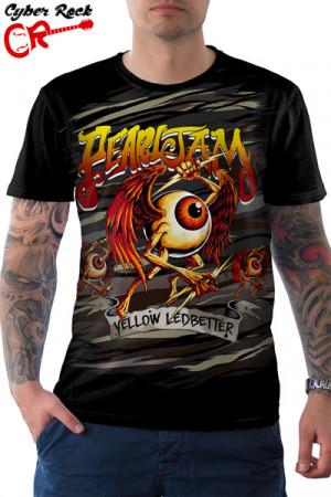 Camiseta Pearl Jam - yellow ledbetter