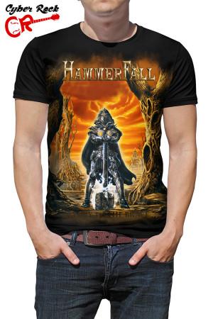 Camiseta HammerFall glory to be brave