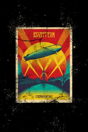 Camiseta Led Zeppelin Celebration Day
