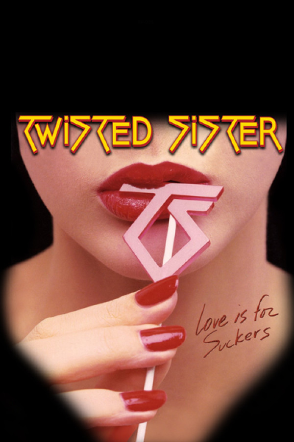 Blusinha Twisted Sister - love is for suckers