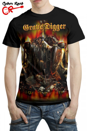 Camiseta Grave Digger Liberty or Death