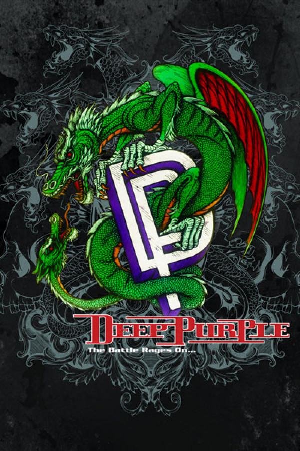 Camiseta Deep Purple The Battle Rages on