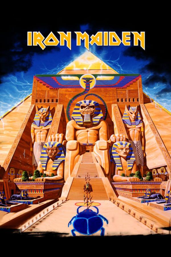 Blusinha Iron Maiden Powerslave Front