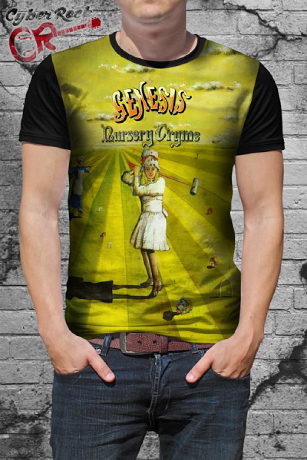 Camiseta Genesis Nursery Cryme