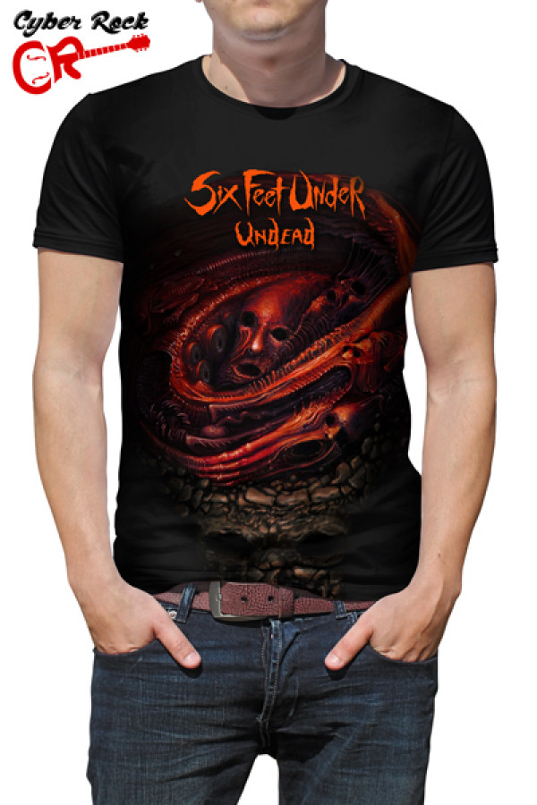 Camiseta Six Feet Under Undead