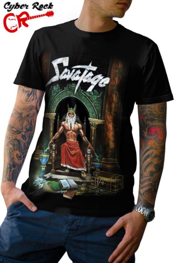 Camiseta Savatage Hall of the Mountain King