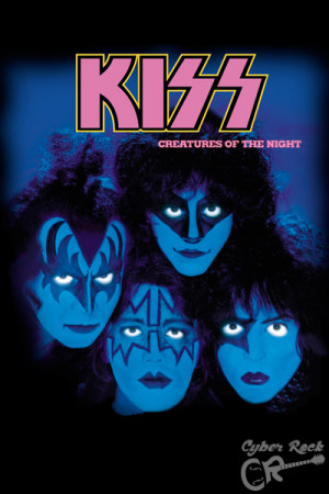 Almofada banda Kiss Creatures of the Night