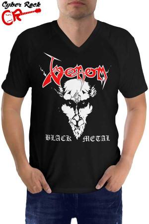 Raglan manga curta Venom Black Metal