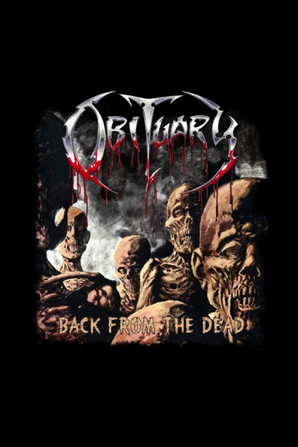 Camiseta Obituary - Back from the dead