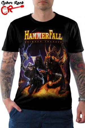 Camiseta HammerFall Crimson Thunder