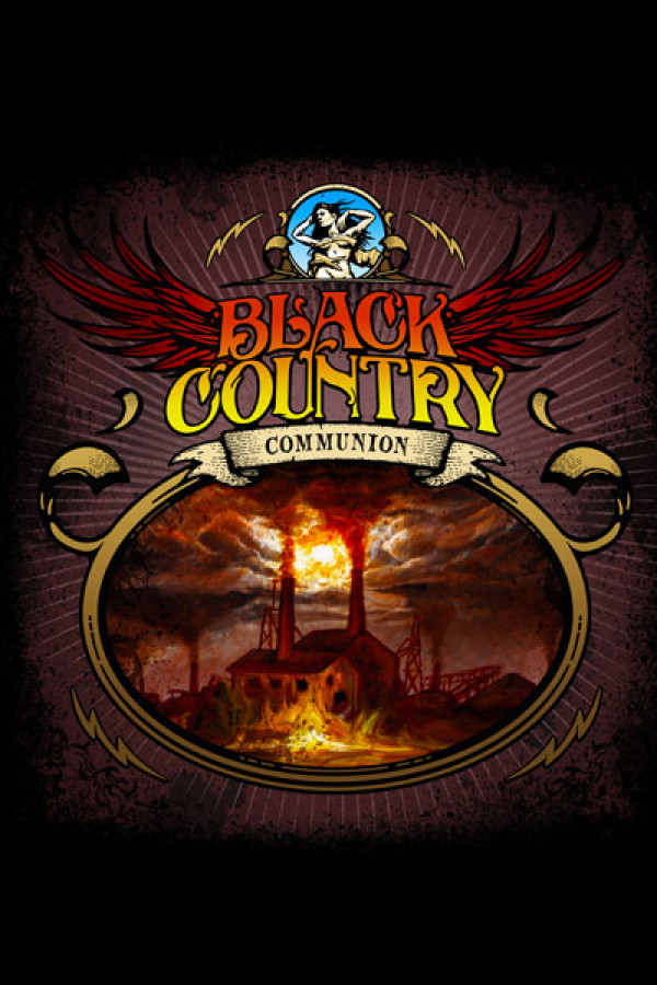 Camiseta Black Country Communion