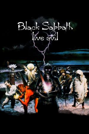 Camiseta Black Sabbath Live Evil