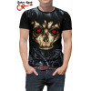 Camiseta Tatoo Wired Skull