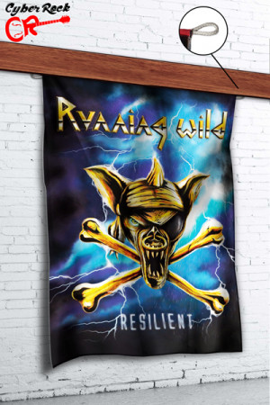 Bandeira Running Wild Resilient