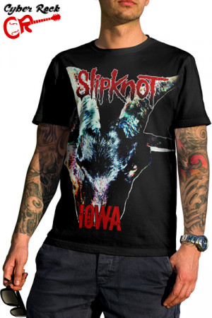 Camiseta Slipknot Iowa