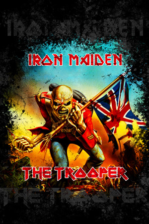 Regata Iron Maiden the trooper