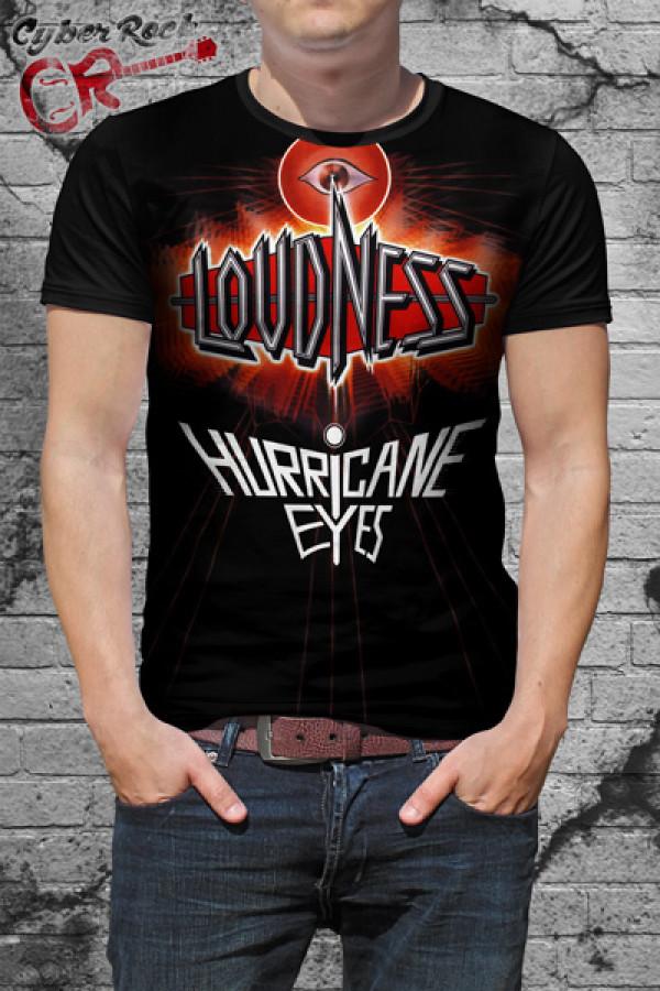 Camiseta Loudness Hurricane Eyes