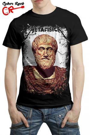 Camiseta Metafísica Aristóteles