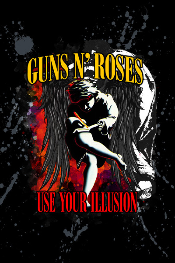 Blusinha Guns n Roses Use Your Illusion